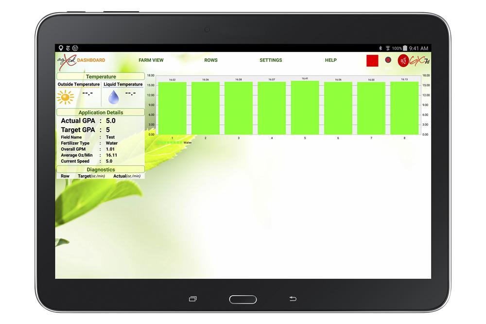 Galaxy GX7 Dashboard