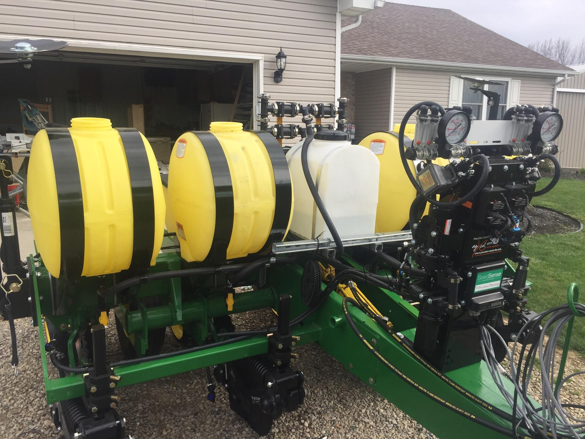 GX2 On a Test Planter for Monsanto
