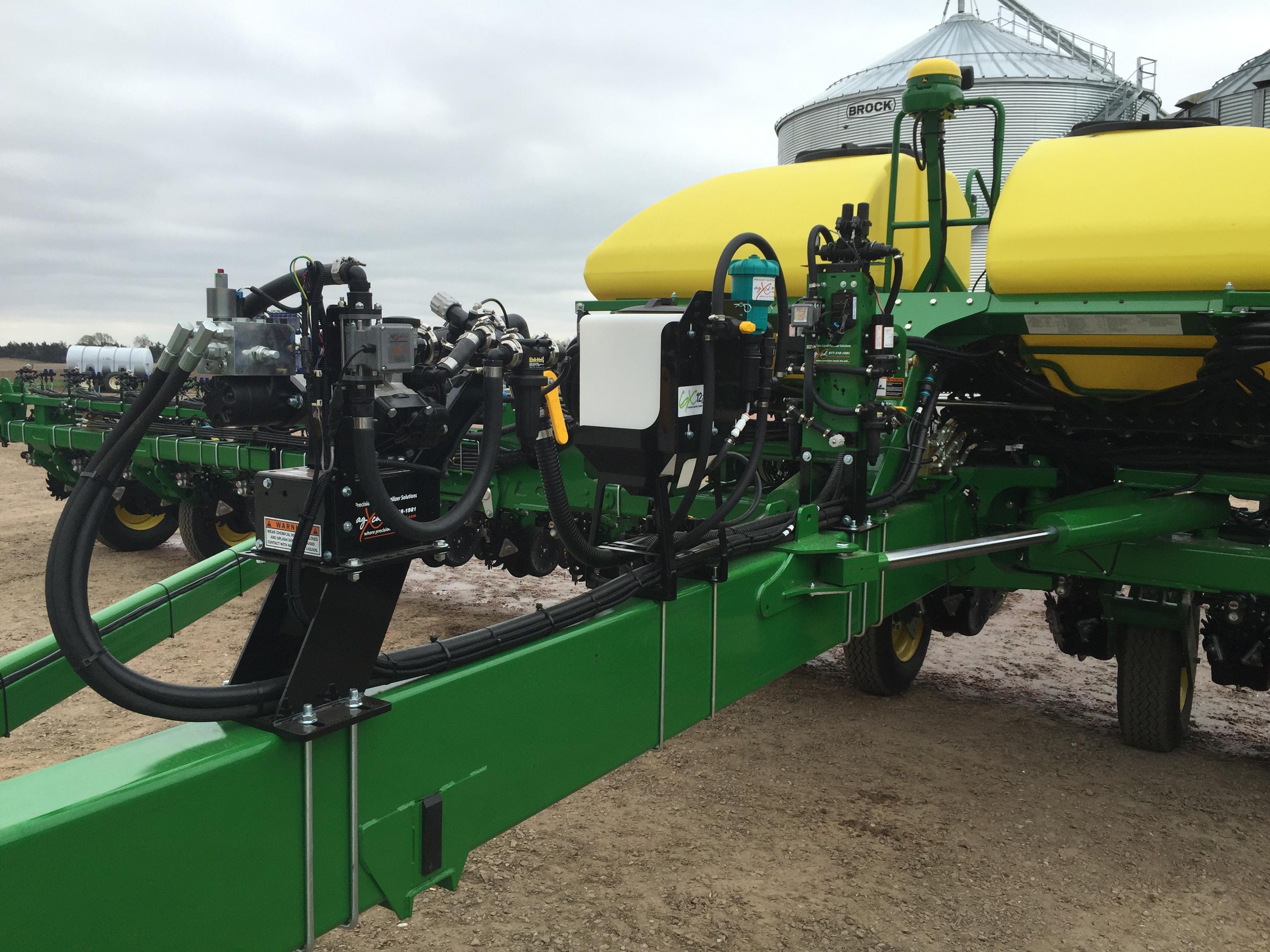 GX5, GX2 and GX12i on Planter #2