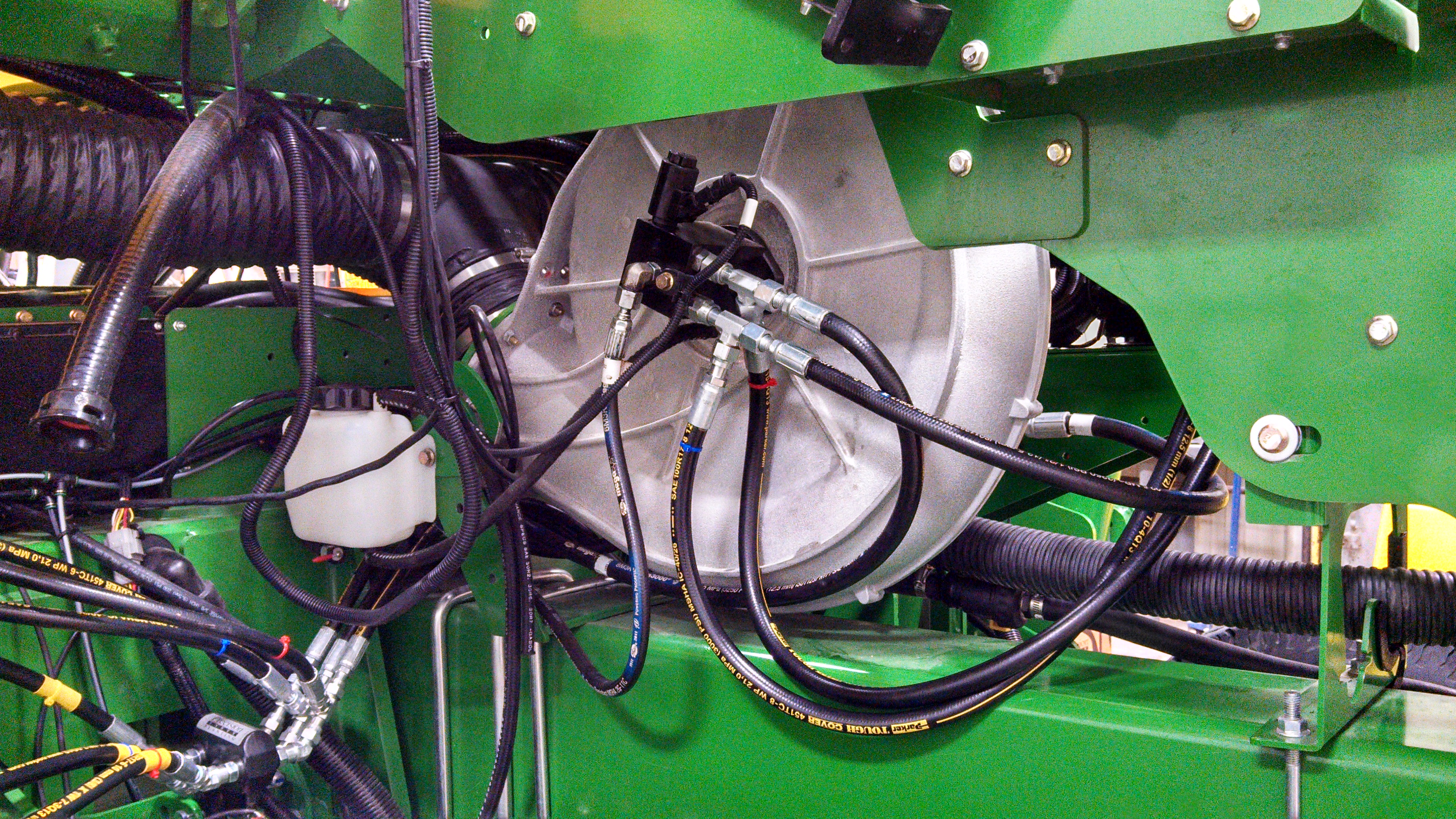 GX5 Integrated into the planter blower motor