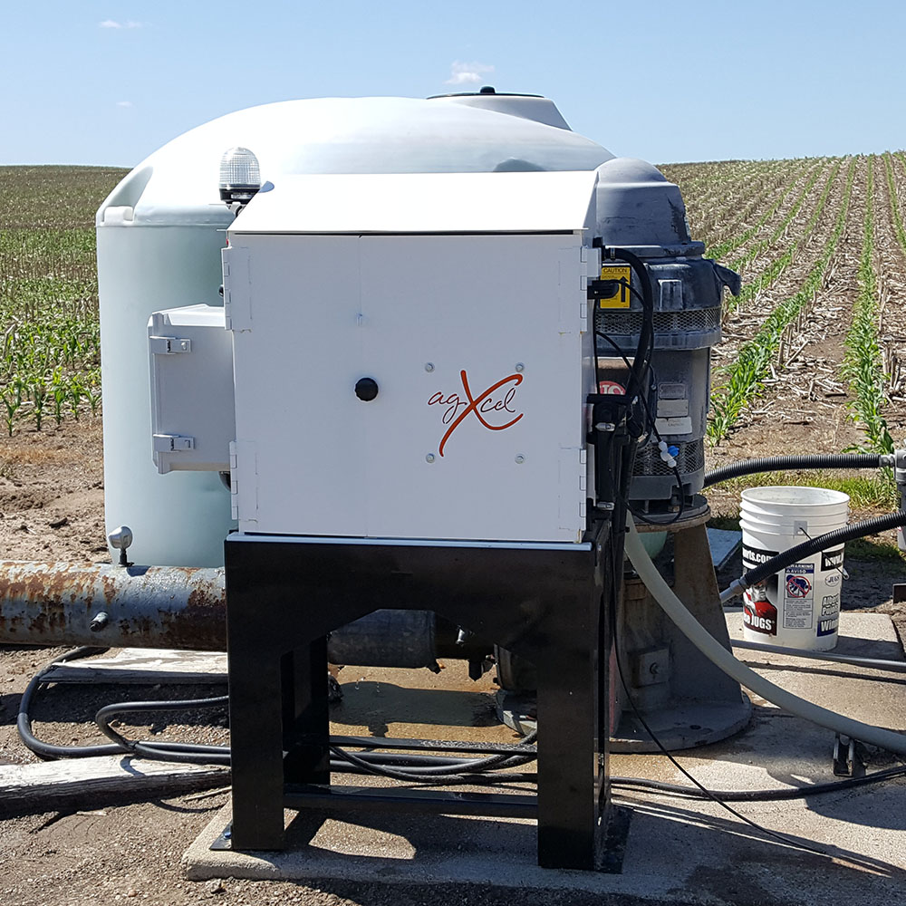 GX20 Irrigation in the field