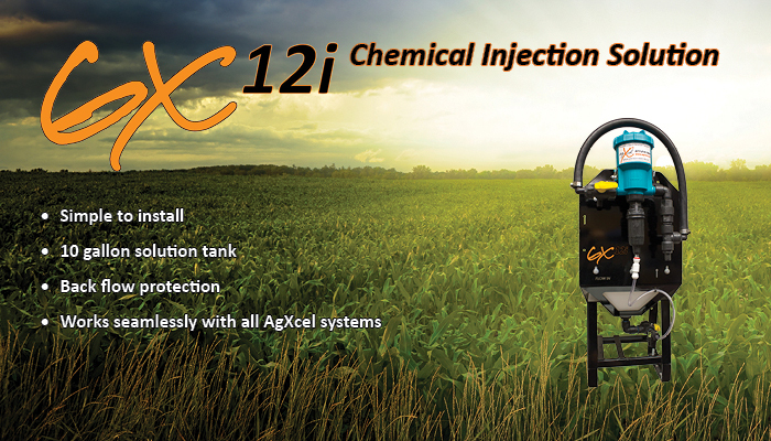 AgXcel GX12i In-furrow Chemical Injection Solution