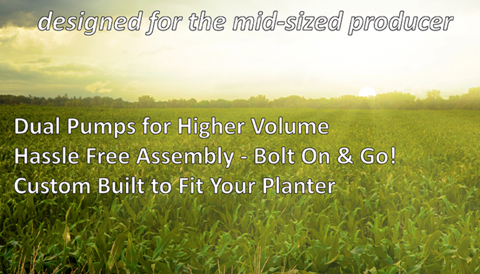 AgXcel GX2 Liquid Fertilizer Application Solution