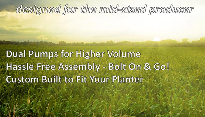 AgXcel GX2 Liquid Fertilizer Application Solution