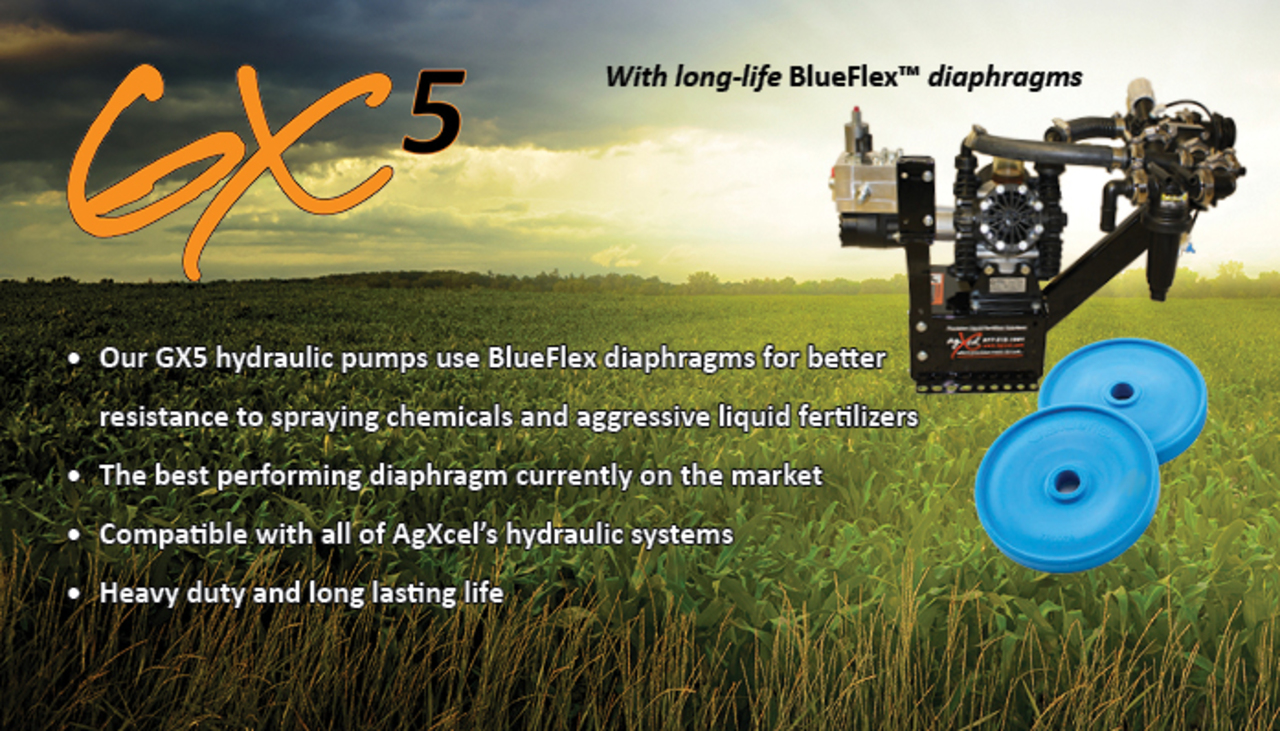 GX5 Blue Flex Technology