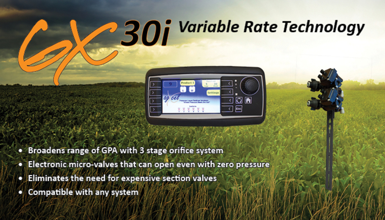AgXcel GX30 Variable Rate Technology (VRT)