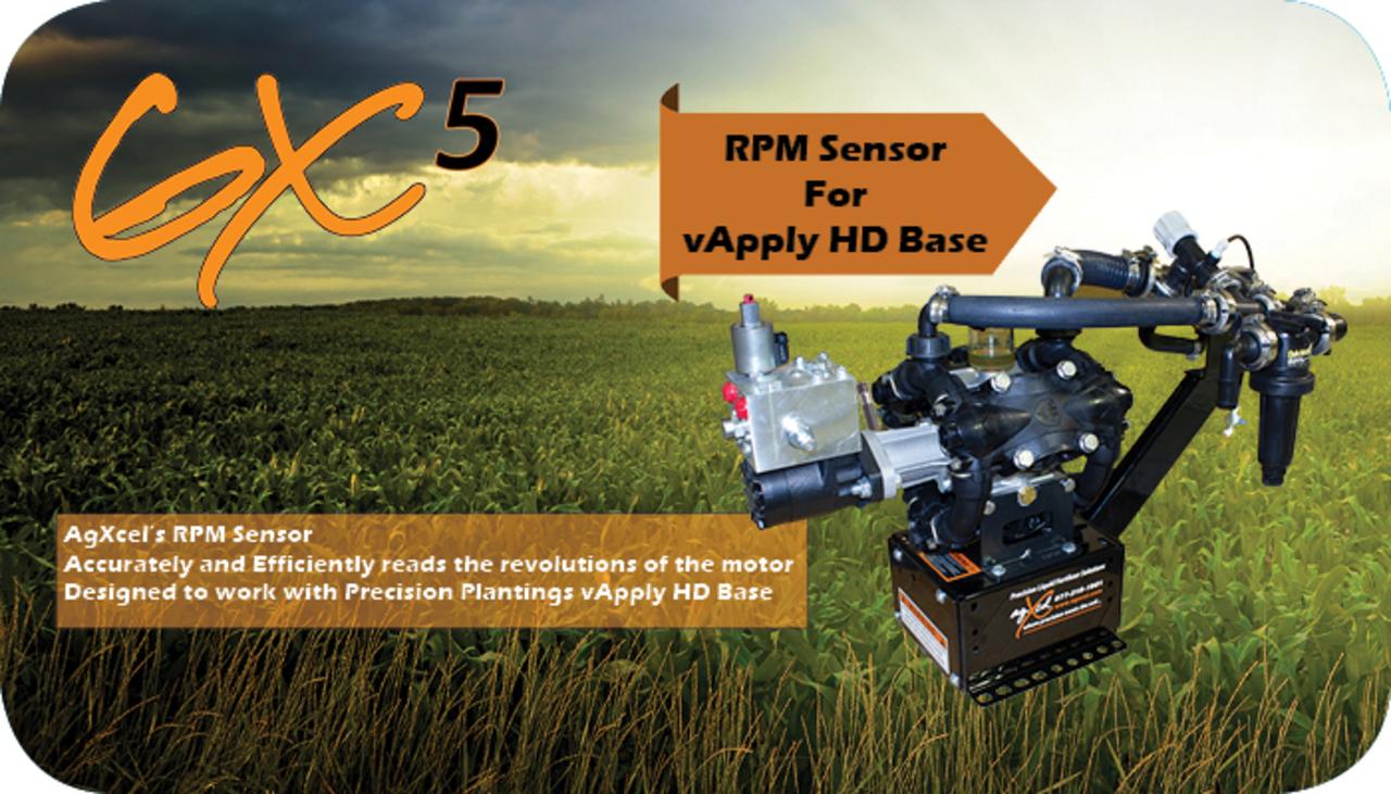 AgXcel RPM Sensor for vApply HD Base