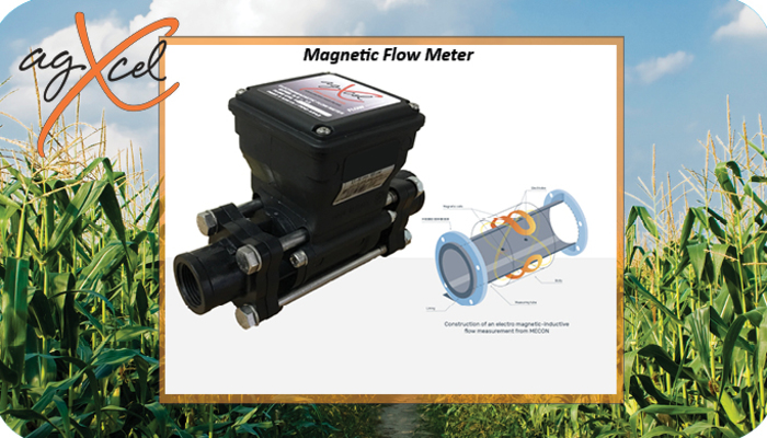 AgXcel Magnetic Flow Meter - When Precision Matters!
