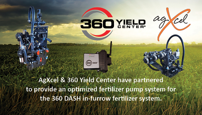AgXcel and 360 Yield Center have Partnered for the deployment of 360 Yield Center's Dash Product
