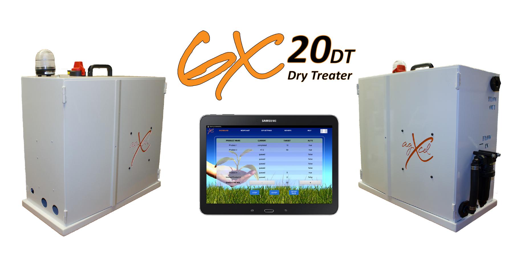 GX20 Dry Treater - AgXcel